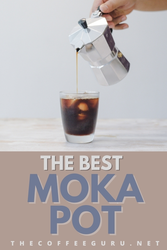 THE BEST MOKA POT